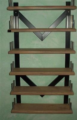 watec analog cd regal stahl 30mm multiplex wandmontage ebay. Black Bedroom Furniture Sets. Home Design Ideas